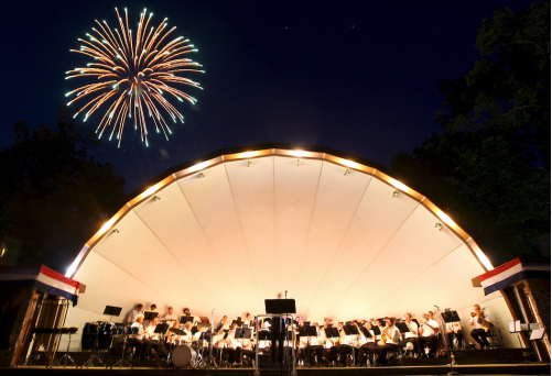 Hopkins Park Fireworks