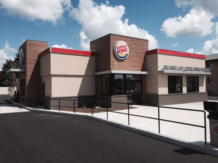 Burger king dekalb celebrates a new image with deep