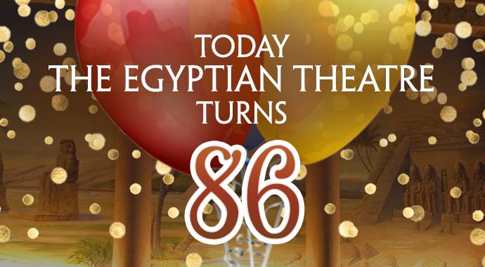 EgyptianTheatreTurns86