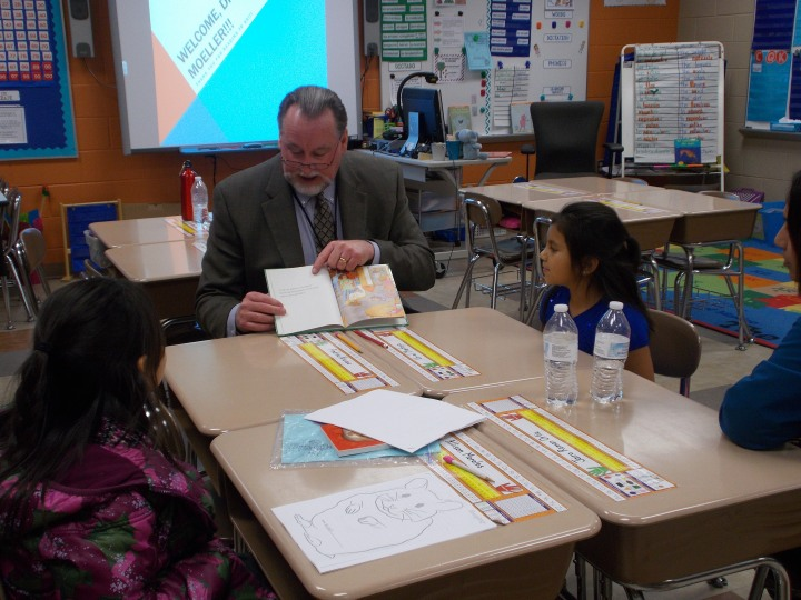 Doug Moeller Cortland Literacy Night2