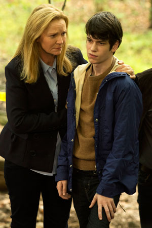 "Joan Allen and Liam James star in ""The Family."" (Photo used with permission)"